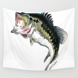 Mr Bass Wall Tapestry