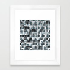 Cubes Within Cubes Framed Art Print