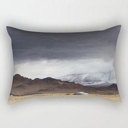 mongolian landscape Rectangular Pillow