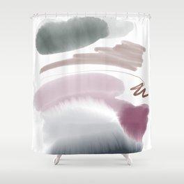 Introversion VI Shower Curtain