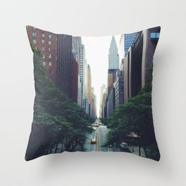 Morning in the Empire Throw Pillow