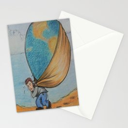 Weight of the World Stationery Cards