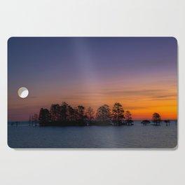 Lake Mattamuskeet Sunrise Cutting Board