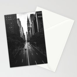 New York City (Black and White) Stationery Cards