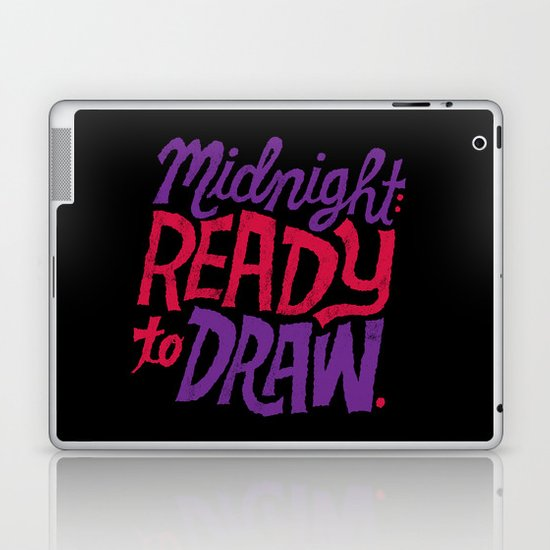 Midnight: Ready to Draw Laptop & iPad Skin