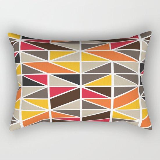 African Tribal Pattern No. 3 Rectangular Pillow