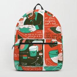 No-knead Bread Backpack