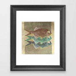 feeling selfish to sell fish Framed Art Print