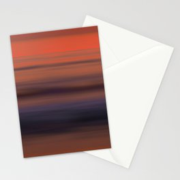 Torrey Pines Sunset Long Exposure Panorama Sweep Stationery Cards