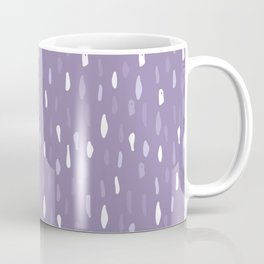 Stains Abstract Ultraviolet Coffee Mug