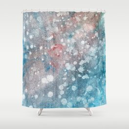 Abstract No. 41 Shower Curtain