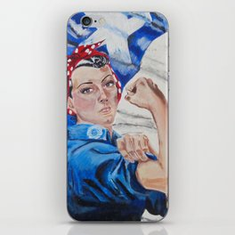 Rosie the Riveter iPhone Skin