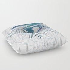 Mandala Vision Flower of Life Floor Pillow