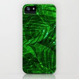 Leaves V12WL iPhone Case