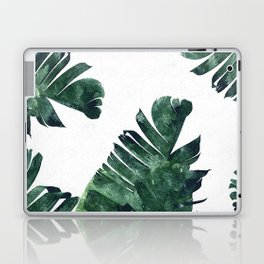 Banana Leaf Watercolor #society6 #buy #decor Laptop & iPad Skin