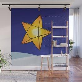 Star Shaped Lantern Wall Mural