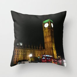 Westminister, London Throw Pillow