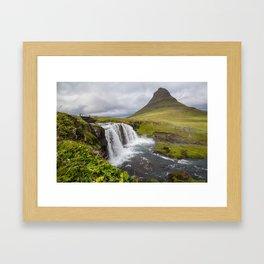 Kirkjufellsfoss Framed Art Print