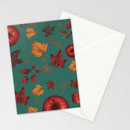 My sweet apple halloween Stationery Cards