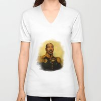 eddie vedder V-neck T-shirts featuring Eddie Murphy - replaceface by replaceface