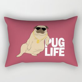 Pug life Rectangular Pillow