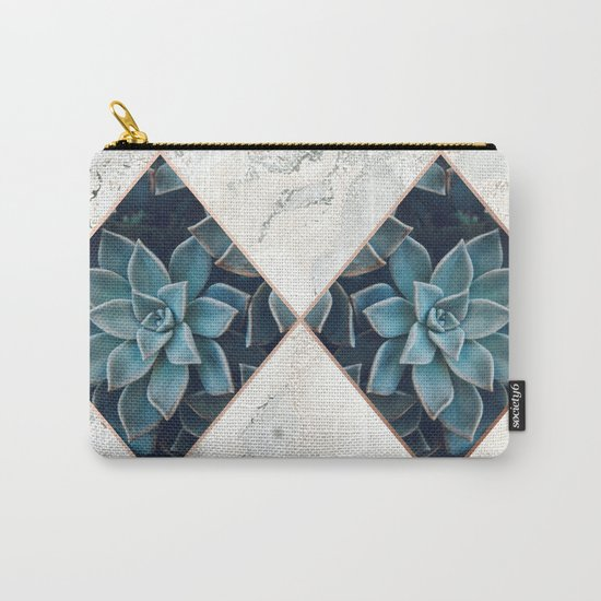 Copper & Marble & Succulent 05 by inthegrayspace