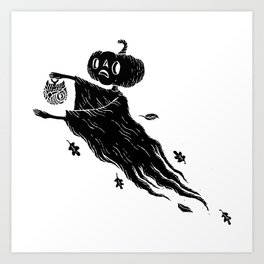 The Spectre of Autumn Art Print