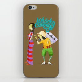 Whacky Cukong iPhone Skin