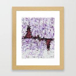 Aethereal Interchange Framed Art Print