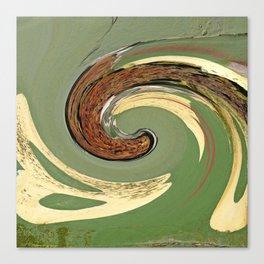 Swirl 05 - Colors of Rust / RostArt Canvas Print