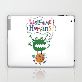 Welcome Humans Laptop & iPad Skin