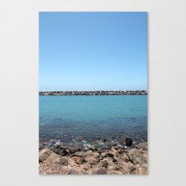 Ocean Jetty Canvas Print