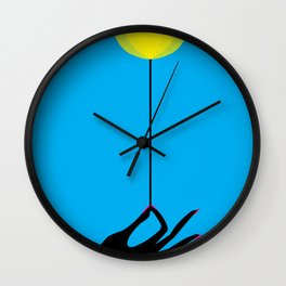 #003 - Ciano Room Wall Clock