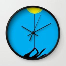 #003 - Ciano Room Wall Clock