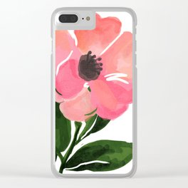 flower 2.2 Clear iPhone Case