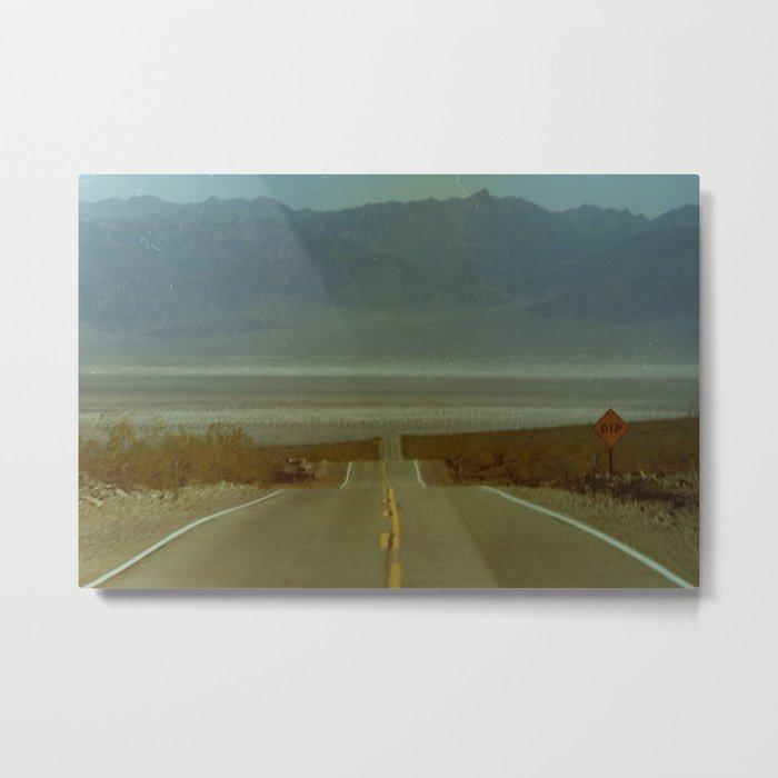 Like Most Roads Metal Print