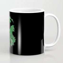 All Might Silhouette v1 Coffee Mug