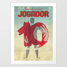 Color Soccer Art Print