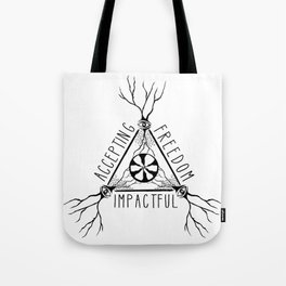 ACCEPTING - FREEDOM - IMPACTFUL Tote Bag