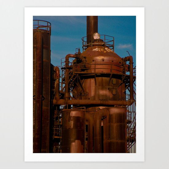 Industry Abandoned Art Print