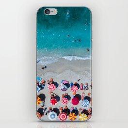 Albanian beach #society6 #buyart iPhone Skin