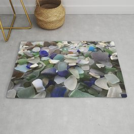 Sea Glass Assortment 5 Rug