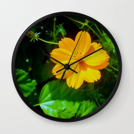 Large-flower Tickseed Wall Clock