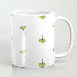 Ginkgo Leaf (Mini) - White Coffee Mug