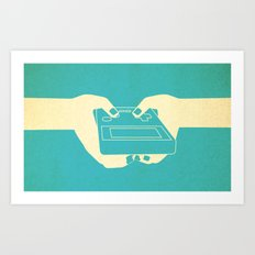 g-boy Art Print