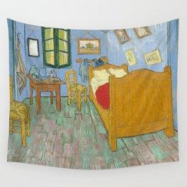 Vincent van Gogh - The Bedroom in Arles Wall Tapestry