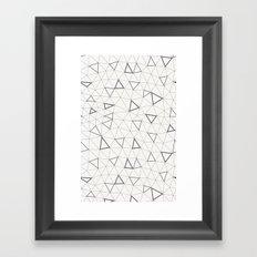 Geometrie Framed Art Print