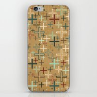positive iPhone & iPod Skins featuring positive by Kingu Omega