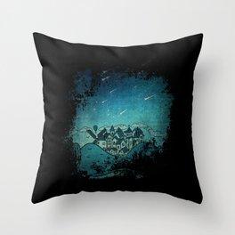 La Noche de las Estrellas Throw Pillow