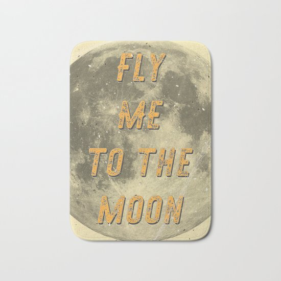 Fly me to the Moon - A Hell Songbook Edition Bath Mat